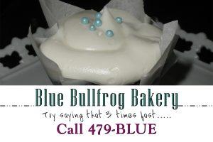 Blue Bullfrog Bakery Logo